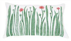 Spring Reeds cushion by Kiran Ravilious