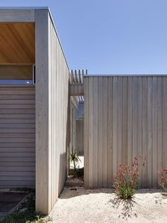 Use of beautiful timber cladding for the Riverside Alterations and Additions