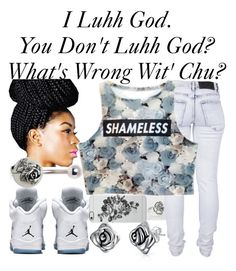 """Luhh God~~"" by ja-la ❤ liked on Polyvore featuring moda, Bling Jewelry, Pandora, Cheap Monday ve Uncommon"