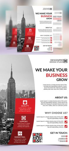 Simple Business Flyer Template Brochure \ Flyer Designs - corporate flyer template