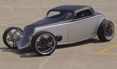 Visit The MACHINE Shop Café... ❤ Best of Hot Rod @ MACHINE ❤ (1933 Ford 3-window Speedstar)