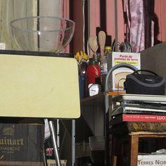 Durant la mise des (nombreux) accessoires...   BIGRE du 25 au 29 Novembre 2014 au Théâtre de la Croix-Rousse.