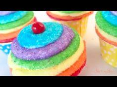 Easy Rainbow Cupcakes - Skip To My Lou Skip To My Lou