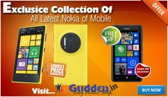 Buy Nokia Mobile Online http://gudden.in/Mobile/nokia-41309583