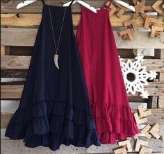 Boho Plain Red Blue Ruffles Mermaid Sleeveless Mini Dress Women's Fashion Cheap Dresses, Simple Dresses, Vivi Fashion, Linen Dress Pattern, African Print Fashion, Classy Outfits, Ruffle Dress, Dress To Impress, Designer Dresses