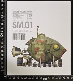 """The Modelling News: Read n' Reviewed: Mike Rinaldi's brand new series launches with """"SM.01 Fish Submarine"""""""