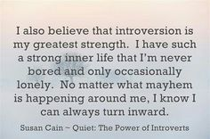 Susan Cain ~ Quiet: The Power of Introverts