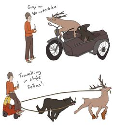 james, sirius and peter, all wasted and stuck in their animagus form, and poor remus putting up with their shit part 2 by http://fleamontpotter.tumblr.com/