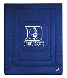 ATHLEZ - Duke Blue Devils Locker Room Comforter Full/Queen
