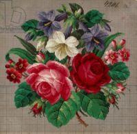 "Gallery.ru / Kalla - Альбом ""Колокольчики,розы и космеи"""