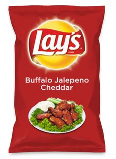 Wouldn't Buffalo Jalepeno Cheddar be yummy as a chip? Lay's Do Us A Flavor is back, and the search is on for the yummiest flavor idea. Create a flavor, choose a chip and you could win $1 million! https://www.dousaflavor.com See Rules.