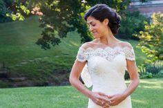 Photography: Rhaina Taylor Photography - www.rhainataylor.com  Read More: http://www.stylemepretty.com/2014/04/24/elegant-afternoon-brunch-wedding/