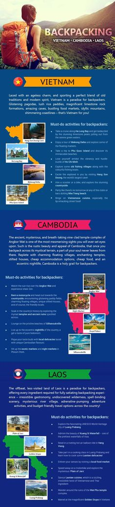 Backpacker's Delight: Vietnam, Cambodia, and Laos!