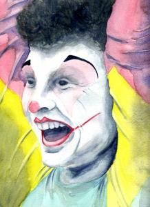 Happy Clown Copyright Gaye Mulholland  www.gayemulhollanddesign.com Illustrator Tutorials, Joker, Happy, Fictional Characters, Illustrations, Art, Art Background, Jokers, Illustration