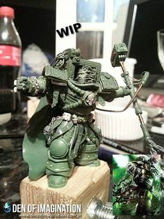 Den of imagination Perturabo. Iron Warriors primarch.