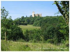 Château de Gaston Fébus à Mauvezin (65)