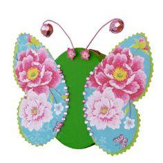 Pappschachtel #Schmetterling basteln   Bastelidee für Kinder, #Kindergeburtstag