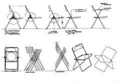 American Apparel - im-so-lucited: Plia Chair, Giancarlo Piretti,...
