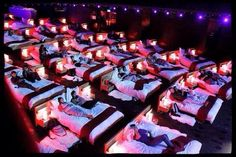 Cinema Concept - Great idea for private use. I can see it being a health hazard if used for the public.