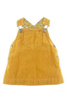 Mini Boden Dungaree Corduroy Dress (Baby Girls) available at Baby Girls, Baby Girl Dresses, Baby Dress, Mini Boden, Little Girl Fashion, Kids Fashion, Fall Outfits, Kids Outfits, Dungaree Dress
