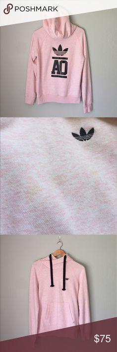 baby pink adidas hoodie || Adidas || m 🌻SALE baby pink hoodie || Adidas || m 🌻SALE *slightest stains. only worn twice. Adidas Jackets & Coats