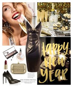 """2017"" by minni15 ❤ liked on Polyvore featuring Yves Saint Laurent, Vivienne Westwood, Boohoo, Neiman Marcus, Urban Decay and Valentino"