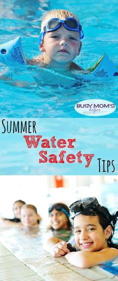 Tips for water safety during the summer #MakeSafeHappen #WaterSafety #ad #IC