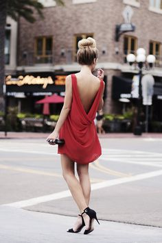 Top Knot & Open Back