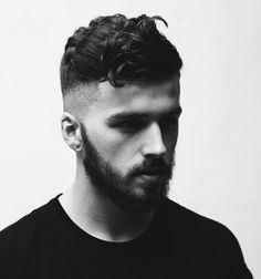 coiffure homme rentrée rasé côté Barbe, mode, inspiration, coiffure homme, barbier & salons de coiffure #hairmaps
