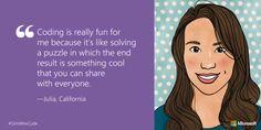14 Girls Explain Why Women Should Learn How To Code #STEM #kidscancode