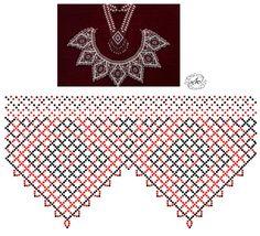 ru / Фото – a treasury of beaded jewelry – lusya-r – SkillOfKing. Diy Necklace Patterns, Seed Bead Patterns, Beaded Jewelry Patterns, Beading Patterns, Free Beading Tutorials, Seed Bead Projects, Diy Jewelry Inspiration, Seed Bead Necklace, Jewelry Making Beads