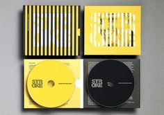 Best Awards - Bathgate Design. / Stroke cd packaging