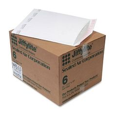 Jiffylite Sealed Air 12 1/2-inch x 19-inch Self-Seal Padded Mailer