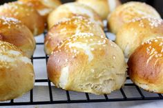 Absolutely amazing pretzel rolls!! VERY simple, but oh so good. Made for David's birthday and were a BIG hit!!
