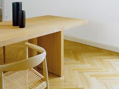 The Isaac Dining Table is a contemporary design that lends itself modern living.