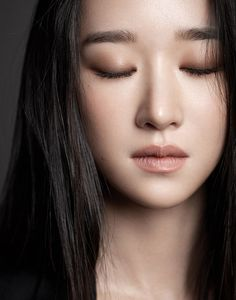 Asian Eye Makeup, Korean Makeup, Korean Beauty Girls, Asian Beauty, Seo Ji Hye, Korean Actresses, Korean Celebrities, Makeup Inspiration, Beauty Make Up