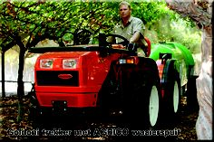 Goldoni Tractor & AGRICO Mistblower