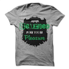 Bearded Pleasure T Shirt, Hoodie, Sweatshirts - shirt design #shirt #Tshirt