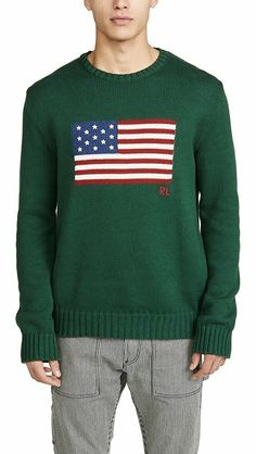 Best polo sweater, New Polo Ralph Lauren Men's USA Flag Cotton Sweater (S,M,L,XL) Best Christmas Gifts. Polo Sweater, Polo Jeans, Cotton Sweater, Pullover Sweaters, Best Christmas Gifts, Christmas Fun, Polo Sport Ralph Lauren, Usa Flag, Retro Vintage