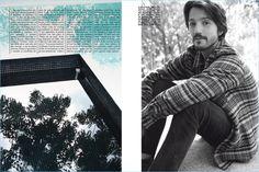 Diego Luna Appears in L'Uomo Vogue Shoot, Reflects on 'Y Tu Mamá También'