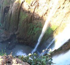 Ouzoud Wasserfall - Marrocos