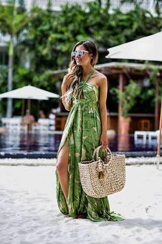 Under $100: Palm Print Dress.