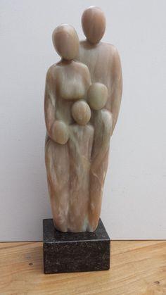 Family Sculpture, Modern Art Sculpture, Stone Sculpture, Sculpture Clay, Abstract Sculpture, Body Image Art, Ceramic Light, Art Poses, Stone Art