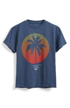 Rip Curl 'Las Palmas' Heathered T-Shirt (Big Boys) | Nordstrom
