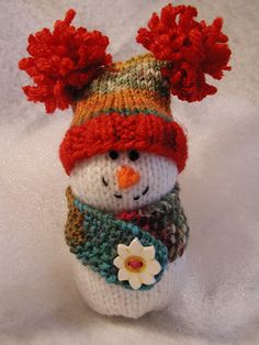 Such a funny little snowman.  They always make me smile.  This little guy is so cute.