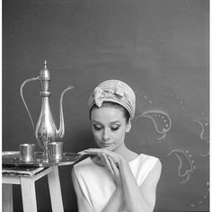 Audrey Hepburn in Givenchy, photo by Cecil Beaton, March 1964