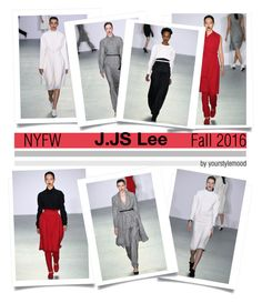 """""""J.JS Lee Fall 2016"""" by yourstylemood ❤ liked on Polyvore featuring J. JS Lee, women's clothing, women, female, woman, misses and juniors"""