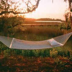 Deluxe Original Polyester Rope Hammock by Pawleys Island Hammocks.. Nothing is better than laying in a hammock enjoying a beautiful view!