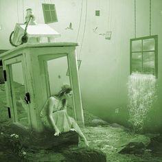 Editing Real into Surreal Photography. By unadanu.