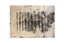 Formazione 2008 Stele cm 60x80  Ceramica- Mix di terre raccolte e refrattari.  Cottura e fiammature effettuate a cielo aperto. By Giovanni Maffucci